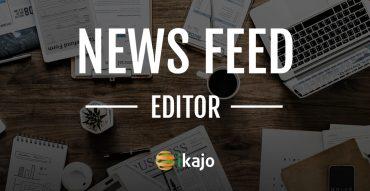 News Feed Editor