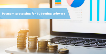 Payment processing for budgeting software