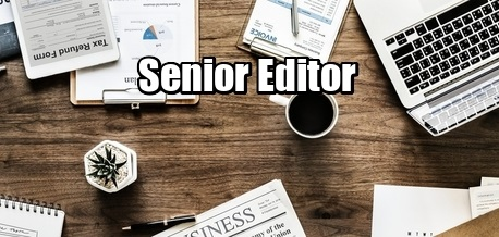 Vacancy Senior Editor