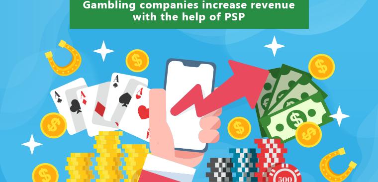 How can gambling companies grow their revenue?