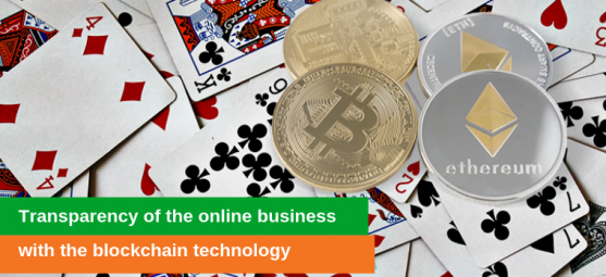 Transparency of the online gambling business with blockchain