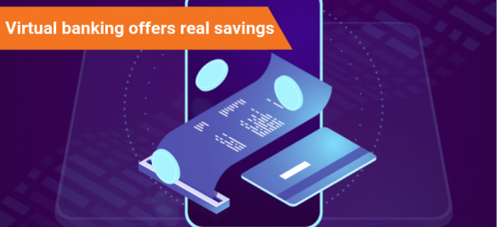 Virtual banking offers real savings