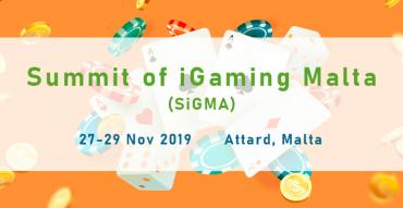 Summit of iGaming Malta (SiGMA) 2019 Nov 27-29