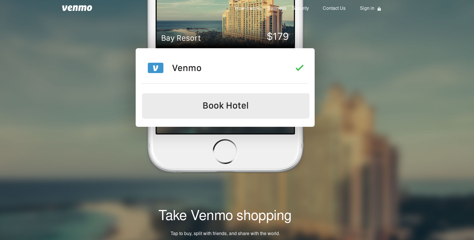 Venmo payment app