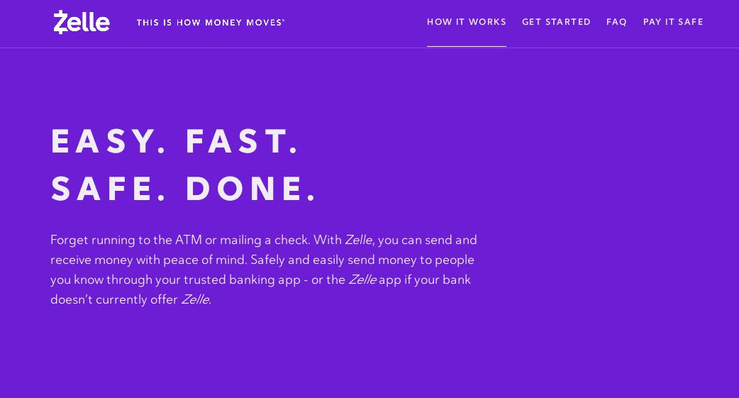 Zelle payment app