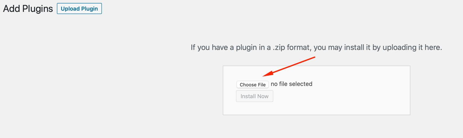 Wordpress woocommerce plugin