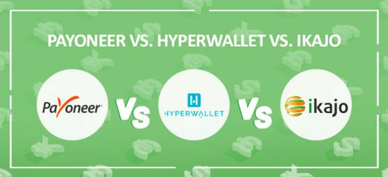 Payoneer vs. Hyperwallet vs. Ikajo
