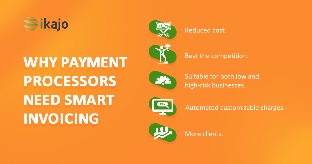 why payment processors need smart invoicing